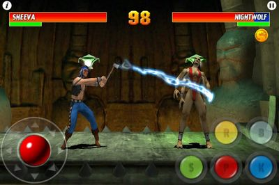 Sheeva в Ultimate Mortal Kombat 3 на домашних консолях (SMD и SNES)