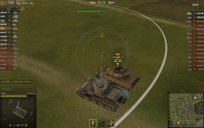 Игра в роте World of Tanks