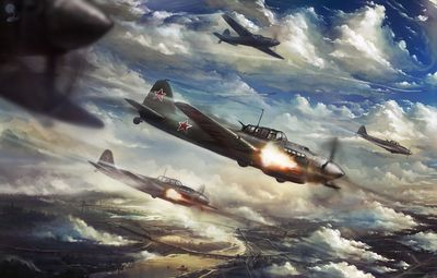 War Thunder (World of Planes) - MMO симулятор от Gaijin Entertainment