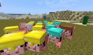 Мод на свиней для майнкрафт 1.7.10